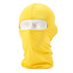 Желтая балаклава - фото 4491