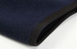 Темно-синяя флисовая балаклава с сеткой - фото 4925