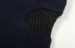 Темно-синяя флисовая балаклава с сеткой - фото 4928