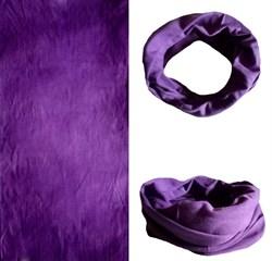 Летний бафф №79 фиолетовый - фото 5097