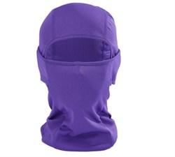 Фиолетовая балаклава-трансформер - фото 5331