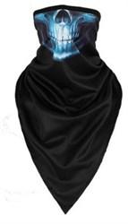 Синий череп - фото 5415