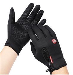 Черные перчатки - фото 5457