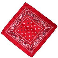 Красная бандана узор - фото 5583