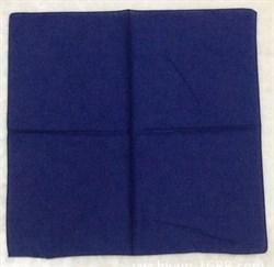 Темно-синяя бандана - фото 5599