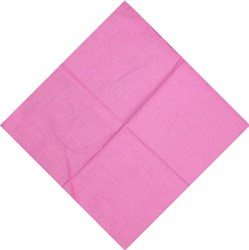 Розовая бандана - фото 5606