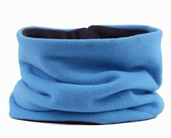 Зимний бафф (2 слоя) голубой - фото 5789