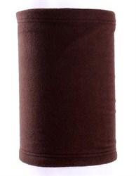 Зимний бафф коричневый - фото 5833