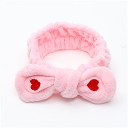 Розовая повязка - фото 6028