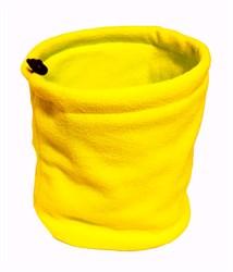 Зимний бафф желтый - фото 6257