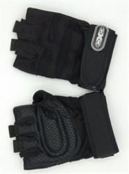 Спортивные перчатки черные - фото 6263