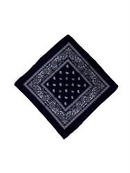 Чёрная бандана узор - фото 6338