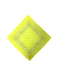 Желтая бандана узор - фото 6340