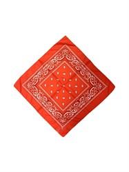 Оранжевая бандана узор - фото 6341