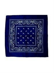 Темно-синяя бандана узор - фото 6350