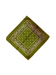 Оливковая бандана узор - фото 6353