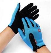 Голубые перчатки