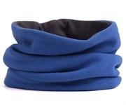 Зимний бафф (2 слоя) синий