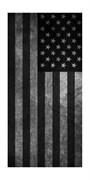 Летний бафф №151 -  Серый полосатый флаг