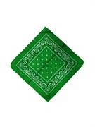 Зеленая бандана узор